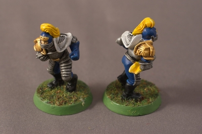 Human Blood Bowl Team - Blitzers