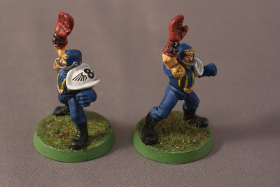 Human Blood Bowl Team - Catchers