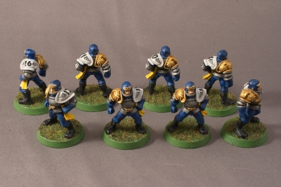 Human Blood Bowl Team - Linemen
