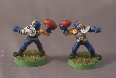 Human Blood Bowl Team - Throwers