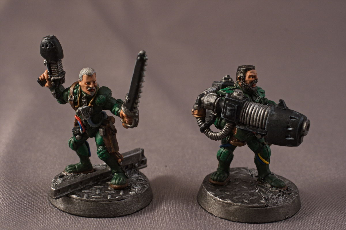 Leader 1  & Plasma Cannon Heavy - Front