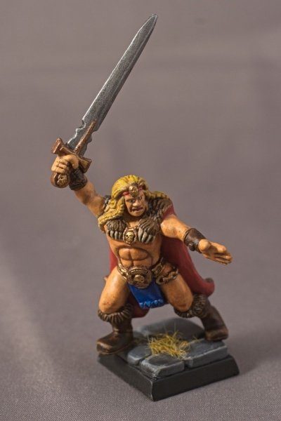 Warhammer Quest Barbarian - Front