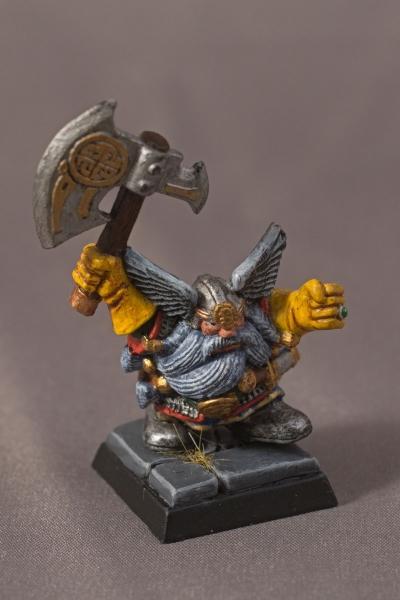 Warhammer Quest Dwarf - Front