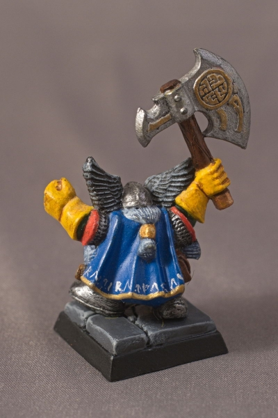 Warhammer Quest Dwarf - Rear
