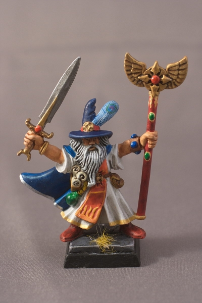 Warhammer Quest Wizard - Front