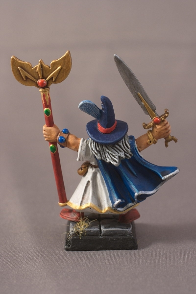 Warhammer Quest Wizard - Rear